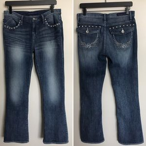 Rock & Republic Kasandra boot cut jeans EUC